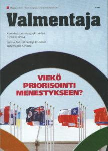 Tiivistelmä artikkelista Valmentaja -lehdessä 4/2016